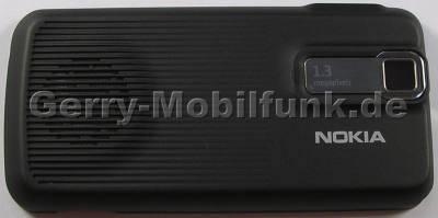 Akkufachdeckel schwarz Nokia 7100 Supernova original Batteriefachdeckel black B-Cover