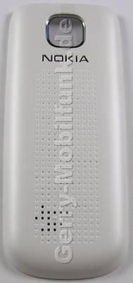 Akkufachdeckel weiss silber Nokia 2690 original B-Cover white silver, Batteriefachdeckel