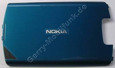 Akkufachdeckel peacock Nokia 700 original Cover blau Batteriefachdeckel