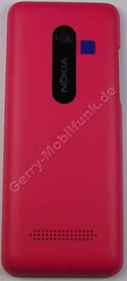 Akkufachdeckel magenta Nokia 206 DualSim original Batteriefachdeckel B-Cover pink