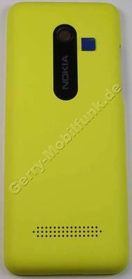 Akkufachdeckel gelb Nokia 206 DualSim original Batteriefachdeckel B-Cover yellow