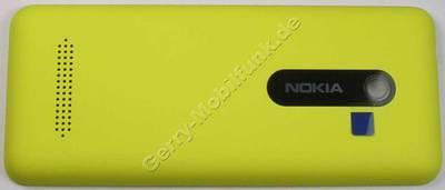 Akkufachdeckel gelb Nokia 206 SingleSim original Batteriefachdeckel B-Cover yellow