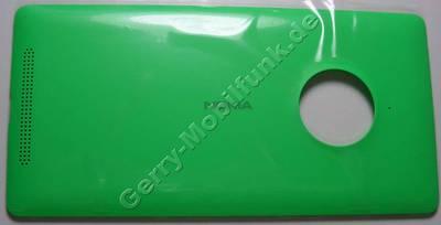 Akkufachdeckel grün Nokia Lumia 830 B-Cover CARE WC BATTERY COVER ASSY GREEN W/LOGO incl. Ladespule für kabelloses laden