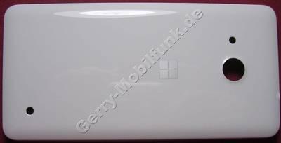 Akkufachdeckel,Unterschale weiß Microsoft Lumia 550 original B-Cover, Batteriefachdeckel, Back cover assy white MASTER