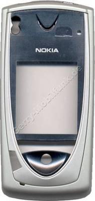 Cover original Nokia 7650 (Oberschale) incl. Ein/Aus-Taste und Freisprechtaste