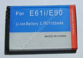 Akku Nokia E6-00 LiIon 1500mAh 3,7Volt 4,8mm ca. 27g 5,6Wh (entspricht BP-4L) Akku vom Markenhersteller
