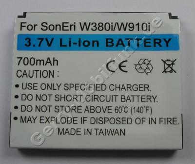 Akku SonyEricsson Z555i (entspricht BST-39) LiIon 700mAh 5,8mm