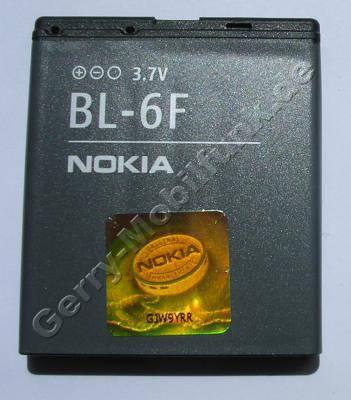BL-6F original Akku Nokia N79 1200mAh LiPolymer Akku mit Hologramm