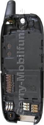 Gehäuseunterteil anthrazit Siemens SL45 SL45i SL42 SL42i dunkel grau Original incl. Mikrofon, Akkukontakte, Simkartenleser und Speicherkartenleser sowie Antenne