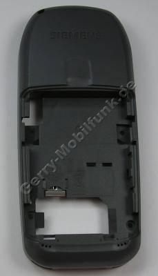 Unterschale Siemens A70 pebble grau original Back Cover, Gehäuseträger incl. interne Antenne, Vibrationsmotor, Mikrofon, Simkartenhalter