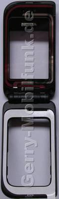 Oberschale Tastatur Nokia 7270 Cover incl. Oberschale großes Display, Gelenkmechanismus, Lautsprecher, Magnet, Displayscheibe großes Display