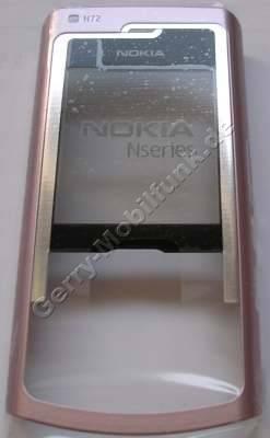 Oberschale pink Original Nokia N72 A-Cover