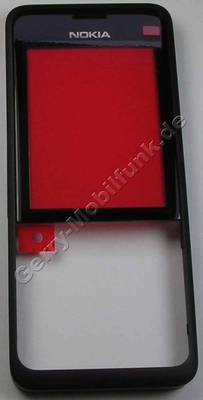 Oberschale schwarz Nokia 301 SingleSim original A-Cover black