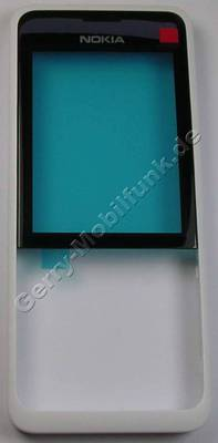 Oberschale weiss Nokia 301 DualSim original A-Cover white
