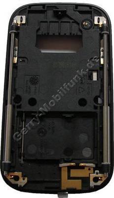 Kamerataste, Fototaste original Nokia 6111 schwarz, mit Schiebemechanismus des Gerätes und Simkartenabdeckung, Lautstärketaste