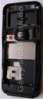 Unterschale original Nokia 6120 Classic C-Cover Gehäuserahmen incl. Simkartenhalten, IHF-Lautsprecher ( Freisprechlautsprecher, Buzzer) Mikrofon, Ladebuchse, Kameraglas, Kamerascheibe, Ein / Aus -Tastenmatte