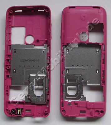 Unterschale pink Nokia 3500 Classic original B-Cover Gehäuserahmen incl. Powerkey, Tastenmatte Ein/Aus, Lautstärketaste, Mikrofon, Ladebuchse, Simkartenhalter