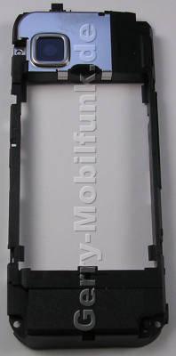 Unterschale, Gehäuserahmen Nokia 5228 original B-Cover mit Antenne, Ladebuchse, Kamerascheibe, Antennenmodul, Freisprechlautsprecher, Buzzer