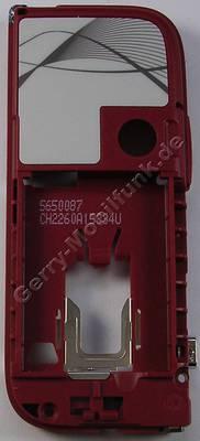 Unterschale, Gehäuseträger Nokia 7260 original B-Cover mit Simkartenhalter, Antenne, Mikrofon, Vibrationsmotor, Ladebuchse, Seitentaste