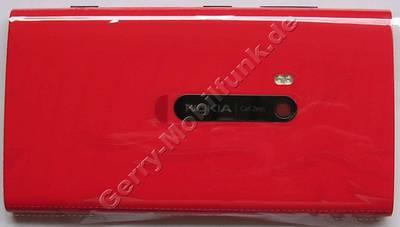 Unterschale, Rückenschale rot Nokia Lumia 920 original Back-Cover incl. Kamerascheibe, Blitzlicht LED, Capture key ( Seitentaste ) Fototaste, Einschalttaste, Lautstärketaste red Akkufachdeckel, NFC-Antenne