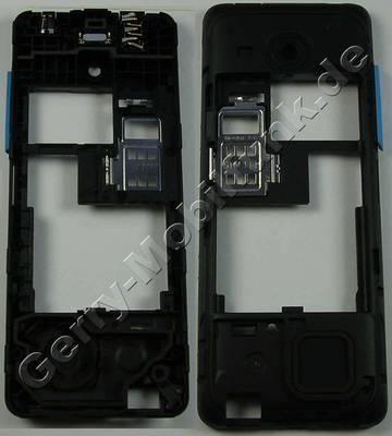 Unterschale, Gehäuseträger cyan Nokia 206 DualSim original D-Cover blau