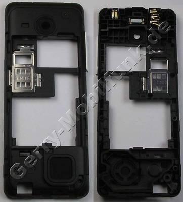 Unterschale, Gehäuseträger weiss Nokia 206 DualSim original D-Cover white