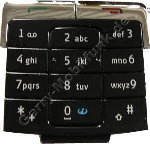 Tastenmatte für Nokia 6260 schwarz Original Nokia