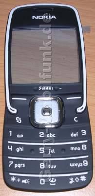 Tastenmatte Nokia 5500 dunkel grau Original Tasten darkgrey mit Displayscheibe