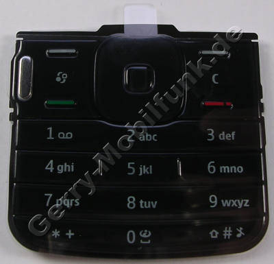 Tastenmatte schwarz Nokia N79 original Telefontastatur black