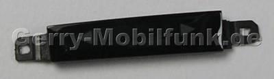 Lautstärke Tastenmatte schwarz Nokia Asha 305 original Tastatur Laut/Leise black