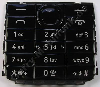 Tastenmatte schwarz Nokia 301 SingleSim original Tastatur latin black