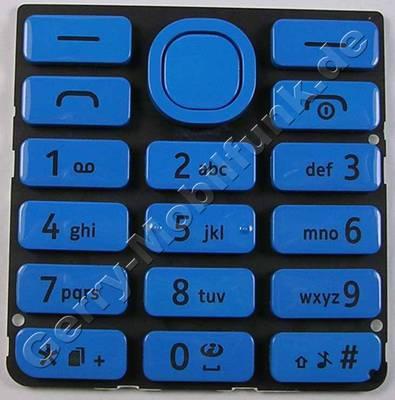 Tastenmatte cyan Nokia 206 DualSim original Tastatur blau