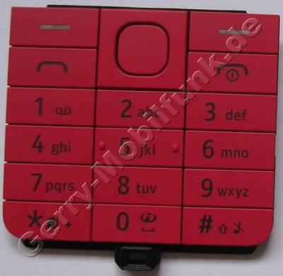 Tastenmatte rot Nokia 220 original Tastaturmatte red Dualsim