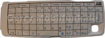 Tastenmatte für Nokia 9300 deutsch Tastaturbelegung PDA-Tastatur