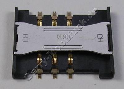 Simkartenleser Samsung GT C3510 Kartenleser, Sim Konnektor, Sim Card Reader