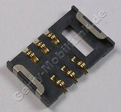Simkartenleser Samsung SGH Z150 Kartenleser, Sim Konnektor, Sim Card Reader
