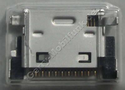 Externer Konnektor Samsung X820 Original Systemkonnektor, Ladeanschluß
