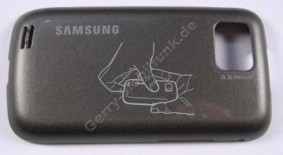Akkufachdeckel schwarz Samsung GT-S5600 Batteriefachdeckel black