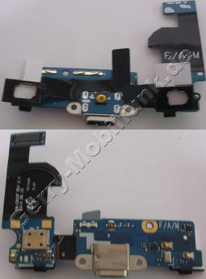 Ladebuchse mit Ladeplatine Samsung G800F Galaxy S5 Mini original USB-Flex, USB-Buchse mit Anschlußplatine