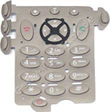 Tastenmatte Motorola V66 gold