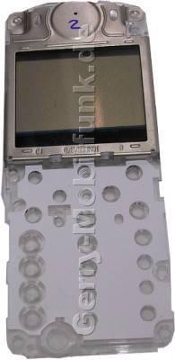 LCD-Display für Motorola C335 (Ersatzdisplay) incl. Tastaturschablone, Lautsprecher und Kontaktgummi
