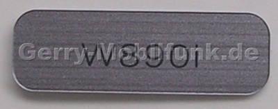 Logolabel silber SonyEricsson W890i original branding Label