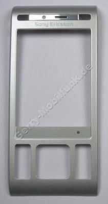 Oberschale Display silber SonyEricsson C905 original Front Cover vom Schieber