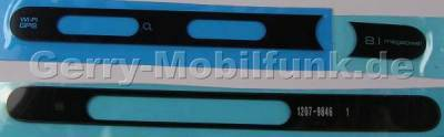 Seitliche Blenden kupfer SonyEricsson C905 original Seitenblende, Site Cover kompletts Set links  plus  rechts