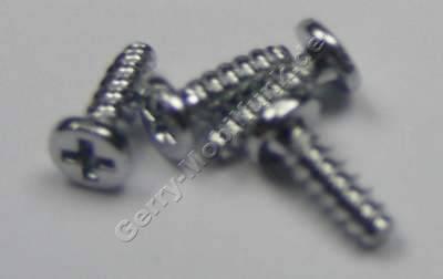 4 Stück Schrauben 4,0x1,4 SonyEricsson C905 original Schraubenset