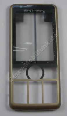 Oberschale mineral grey SonyEricsson G700i Cover grau mit Displayscheibe und Touchscreen Touchpanel