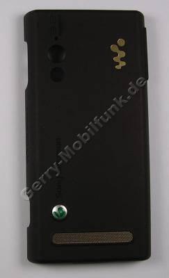 Akkufachdeckel braun SonyEricsson W715i original Cover, Batteriefach brown