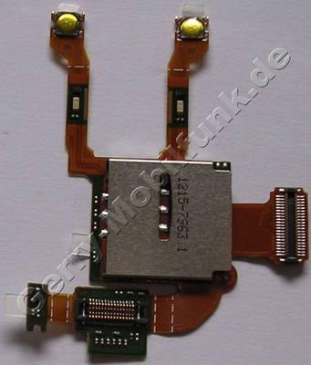Flexkabel mit Simkartenleser SonyEricsson C903i Kartenleser mit Flachbandkabel und Schaltern