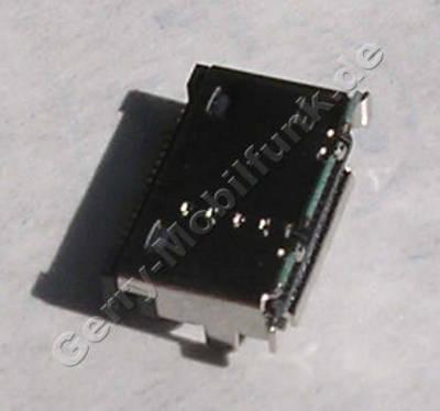 Externer Konnektor LG KP170 original Ladebuchse, Systemanschluß, Buchse zum Anschluß des Ladekabels, Datenkabelanschluß, 19 PIN Lötbuchse