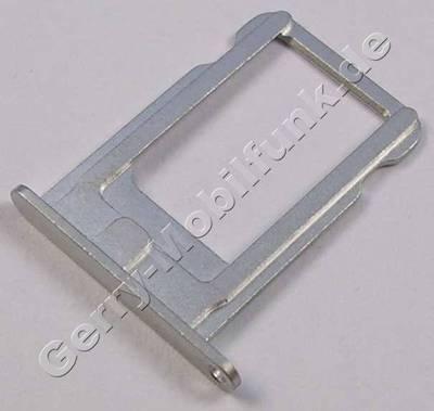 Nano Simkartenhalter Apple iPhone 5 weiß / silber, Simfach white / silver